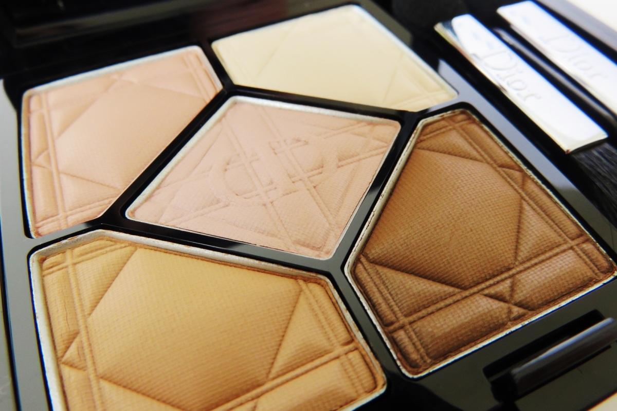 Dior 5 colours matte eyeshadow
