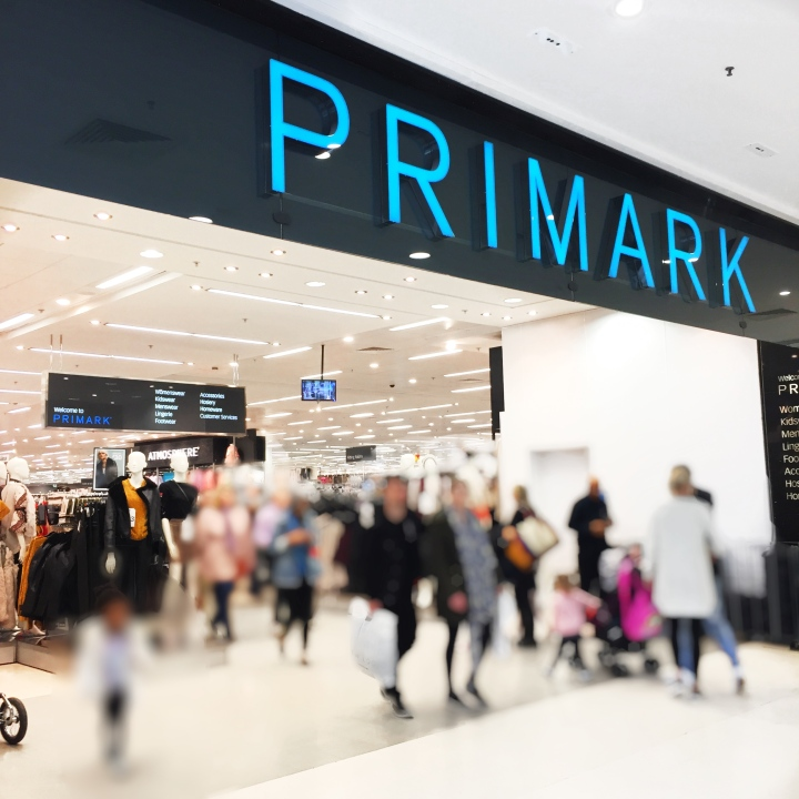 Shopping at Primark