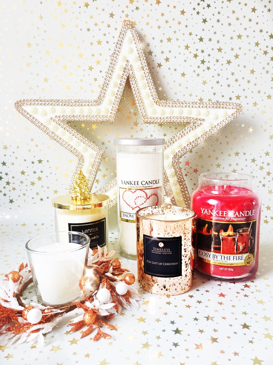 My Top Five ChristmasCandles