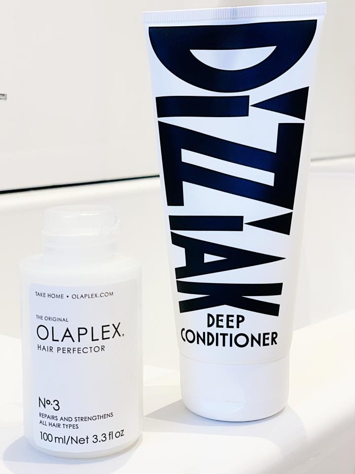 Olaplex & Dizziak Dry HairSaviours