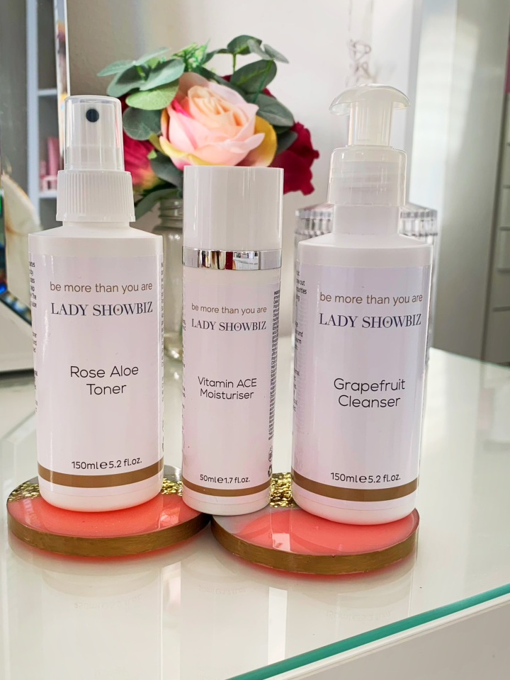 Lady showbiz Skincare